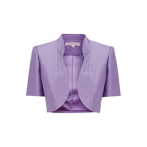 Buy Jacques Vert Lavender Bolero, Purple Online at johnlewis.com
