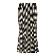 Buy Precis Petite Polka Dot Jersey Skirt, Multi Online at johnlewis.com