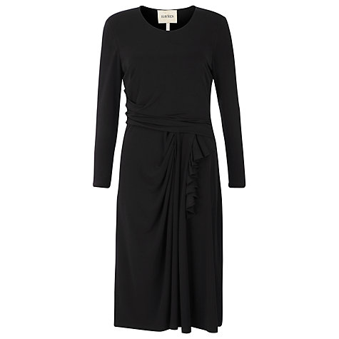 Buy Havren Drape Front Jersey Dress Online at johnlewis.com