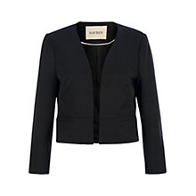 Buy Havren Edge to Edge Crop Jacket, Black Online at johnlewis.com