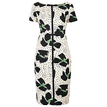 Buy Havren Brush Stroke Dress, Multi Online at johnlewis.com