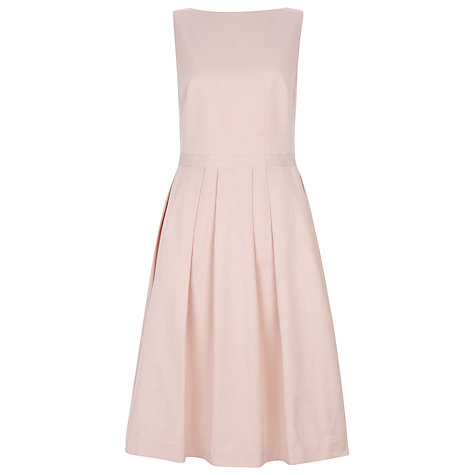 Buy Havren Grosgrain Bow Dress, Pale Pink Online at johnlewis.com