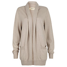 Buy Havren Cashmere Blend Cardigan, Stone Melange Online at johnlewis.com