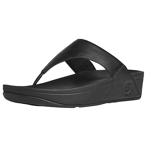 Buy FitFlop Lulu Women's Sports Sandals, Black Online at johnlewis.com