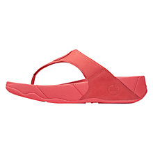 Buy FitFlop Women's Walkstar 3 Nubuck Sandals, Hibiscus Online at johnlewis.com
