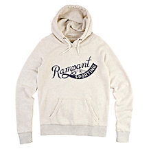 Buy Rampant Sporting Pop Over Hoodie, Grey Marl Online at johnlewis.com