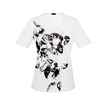 Buy Gery Weber Placement Print T-Shirt Online at johnlewis.com