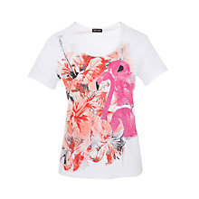 Buy Gerry Weber Flamingo T-Shirt, Multi Online at johnlewis.com
