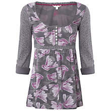 Buy White Stuff Virginia Top, Grey Goose Online at johnlewis.com