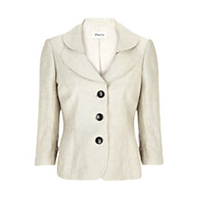 Buy Precis Petite Oyster Crinkle Jacket, Neutral Online at johnlewis.com