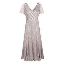 Buy Jacques Vert Pebble Lace Dress, Brown Online at johnlewis.com