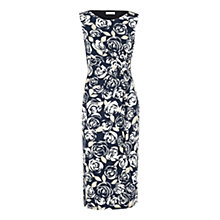 Buy Precis Petite Rose and Leaf Print Dress, Multi Online at johnlewis.com