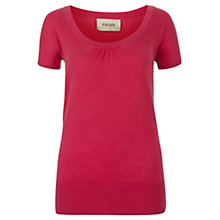 Buy Havren Cashmere Blend Jumper, Camellia Online at johnlewis.com