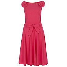 Buy Havren Sleeveless Shoulder Dress, Camellia Online at johnlewis.com