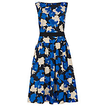 Buy Havren Combo Flower Print Dress, Navy Online at johnlewis.com