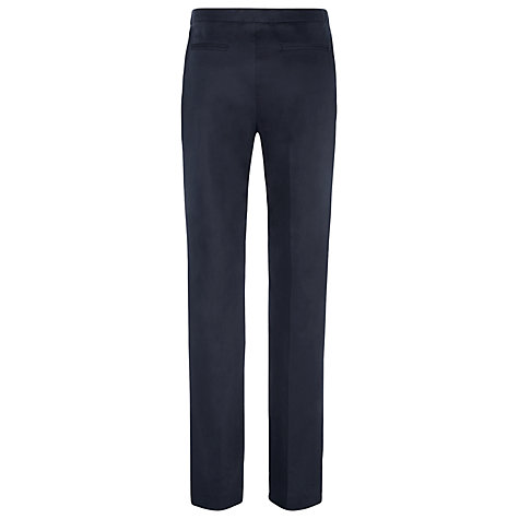 Buy Havren Cigarette Trousers, Navy Online at johnlewis.com