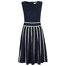 Buy Havren Piped Skater Dress, Navy Online at johnlewis.com