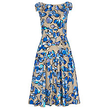 Buy Havren Forget Me Knot Dress, Stone/Combo Online at johnlewis.com