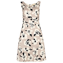 Buy Havren Stencil Flowers Dress, Stone Combo Online at johnlewis.com