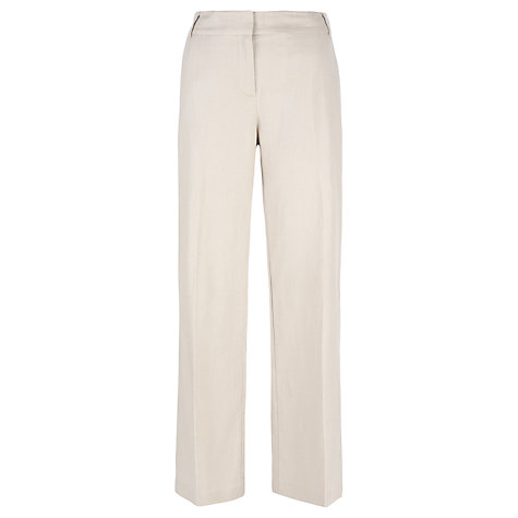 Buy Havren Linen Straight Leg Trousers Online at johnlewis.com