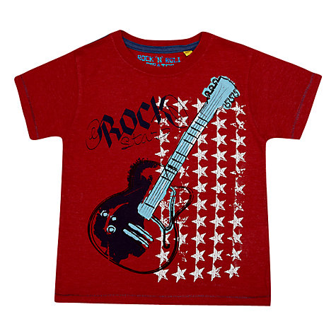 Buy Rock Star Guitar T-Shirt Online at johnlewis.com