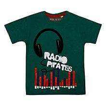 Buy Radio Pirates T-Shirt Online at johnlewis.com