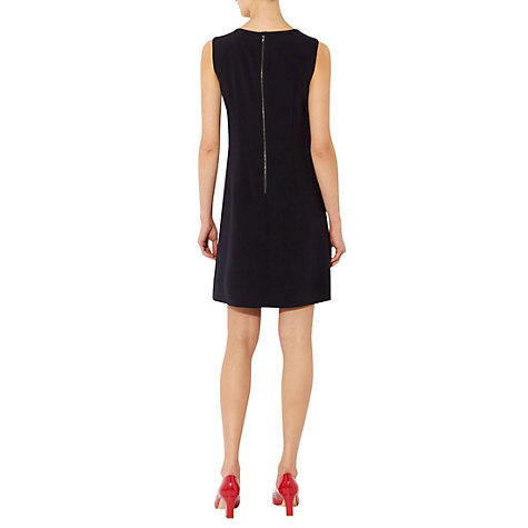 Buy Hobbs Bliss Dress, Navy Online at johnlewis.com