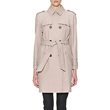 Buy Whistles Riley Trench Coat, Neutral Online at johnlewis.com