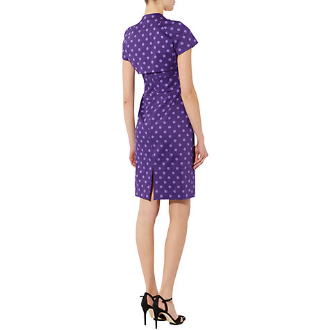 Buy Hobbs Pippa Bolero, Amethyst Online at johnlewis.com