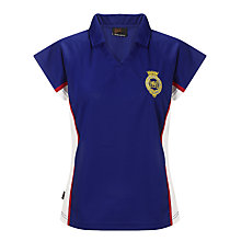 Buy The Mountbatten School Girls' Fitted Sports Polo Shirt Online at johnlewis.com