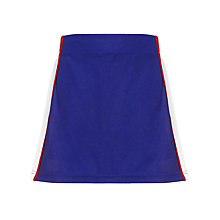 Buy The Mountbatten School Girls' Skort, Royal Blue Online at johnlewis.com