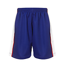 Buy The Mountbatten School Unisex Sports Shorts, Royal Blue/White Online at johnlewis.com