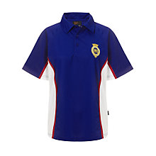 Buy The Mountbatten School Unisex Polo Shirt, Royal Blue/White Online at johnlewis.com