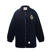 Buy The Mountbatten School Unisex Fleece, Navy Online at johnlewis.com