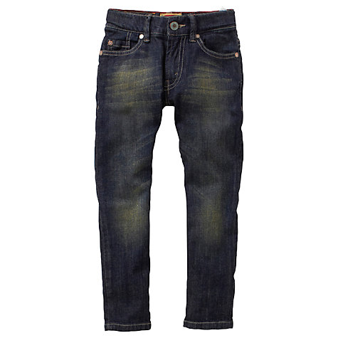 Buy Levi's 511 Boys' Two-Toned Denim Jeans, Blue Online at johnlewis.com