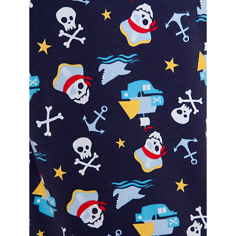 Buy John Lewis Boy Pirate Pyjamas, Pack of 2, Multi Online at johnlewis.com