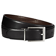 Buy Reiss Dart Leather Reversible Belt Online at johnlewis.com