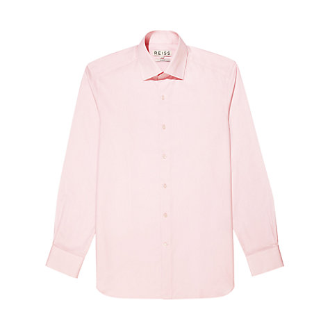 Buy Reiss Navigator Plain Poplin Long Sleeve Shirt Online at johnlewis.com