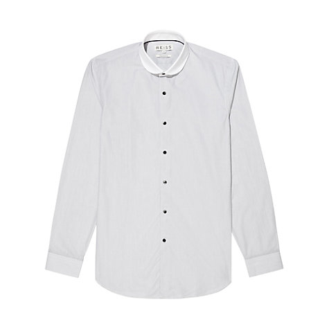 Buy Reiss Phili Hairline Stripe Shirt Online at johnlewis.com
