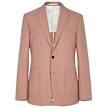 Buy Reiss 2 Button Preacher Jacket, Rose Online at johnlewis.com
