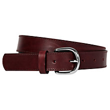 Buy Reiss Twain Leather Belt Online at johnlewis.com