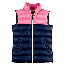 Buy Rampant Sporting Colour Block Gilet Jacket, Blue Online at johnlewis.com
