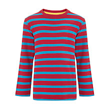 Buy John Lewis Boy Breton Crew Jersey Top Online at johnlewis.com