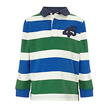 Buy John Lewis Boy Block Rugby Shirt Online at johnlewis.com
