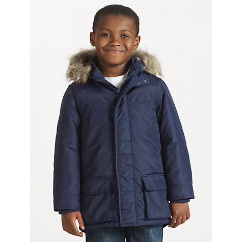 Buy John Lewis Boy Collins Parka Coat Online at johnlewis.com