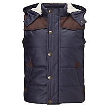 Buy John Lewis Boy Cooper Gilet, Blue Online at johnlewis.com