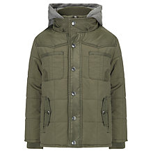 Buy John Lewis Boy Padded Hamilton Hooded Jacket Online at johnlewis.com