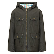 Buy John Lewis Boy Marshall Waxed Jacket Online at johnlewis.com