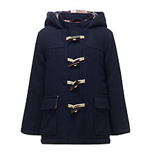 Buy John Lewis Boy Palmer Duffel Coat, Navy Online at johnlewis.com