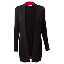 Buy East Edge to Edge Cardigan, Black Online at johnlewis.com